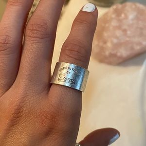 Gucci made in Italy ring
